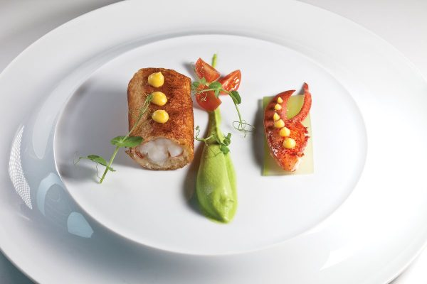 Lobster en Brioche by Herve Malivert. Photo by Battman. Master Chefs of France