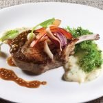 Grilled Berkshire Pork Chop by Jacques Sorci. Photo by Battman.