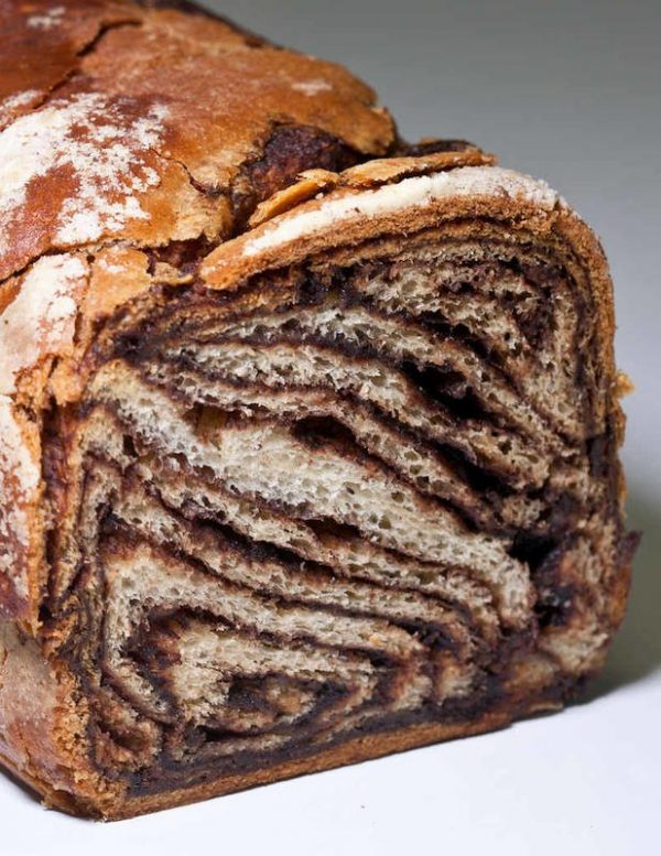 Chocolate Babka from The Pastry Chef's Little Black Book by Michael Zebrowski & Michael Mignano. Photo by Battman.