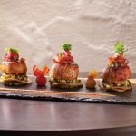 Scallop Tostada by Serge Devesa. Photo by Battman.
