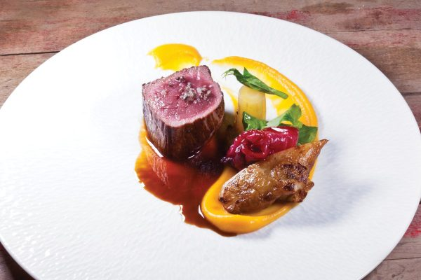 Roasted Elk by Stephane Modat. Photo by Battman.