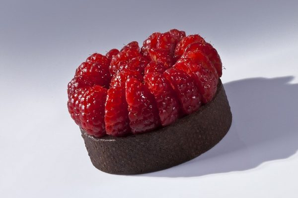 Milk Chocolate Raspberry Tart