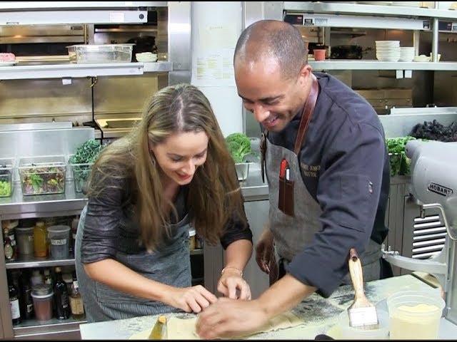 Michael Jenkins Makes Ravioli with Cristina Cote