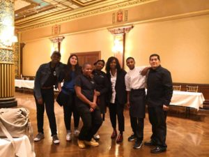 Food and Finance High School volunteers at The Great Gathering of Chefs 2018