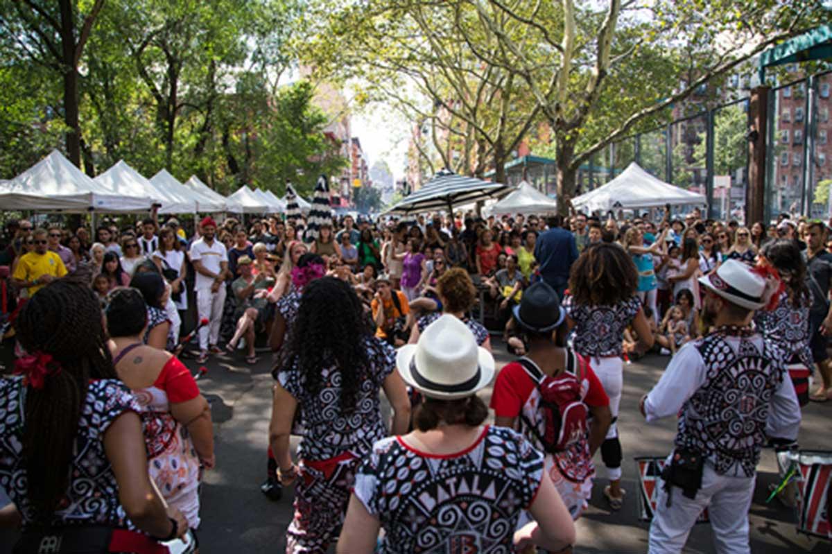 brasil summerfest street fair block party