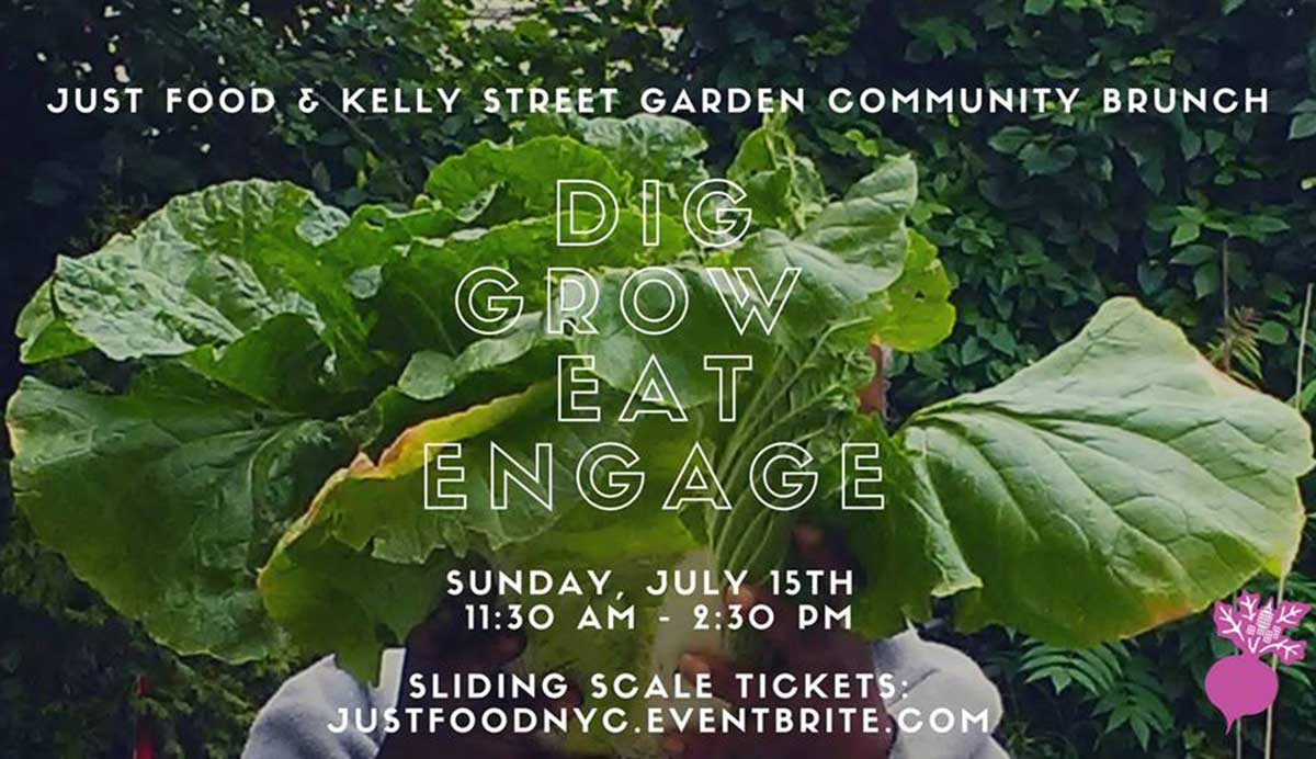 bronx community brunch at kelly street garden