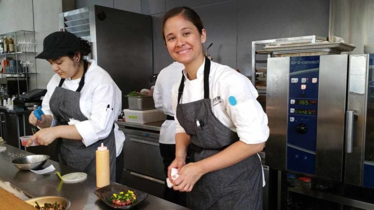 Executive Chef Suzanne Cupps of Untitled restaurant.