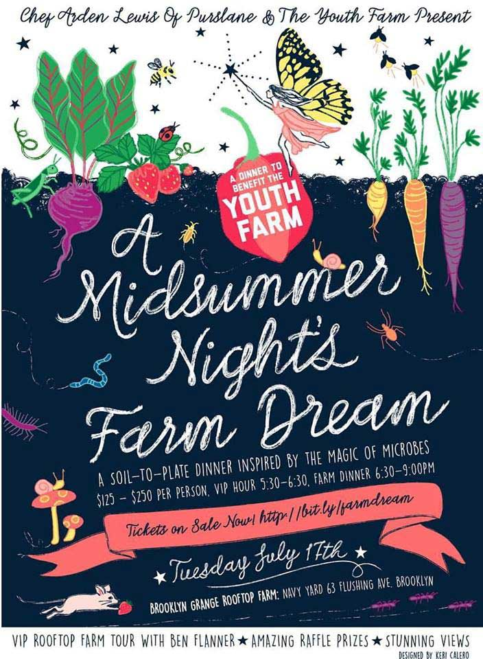 the youth farm 4th annual summer supper