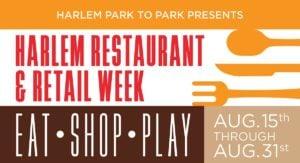 Harlem Restaurant & Retail Week