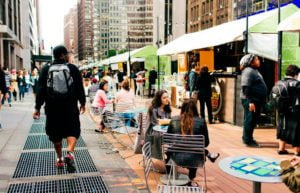 Urbanspace Garment District Fall