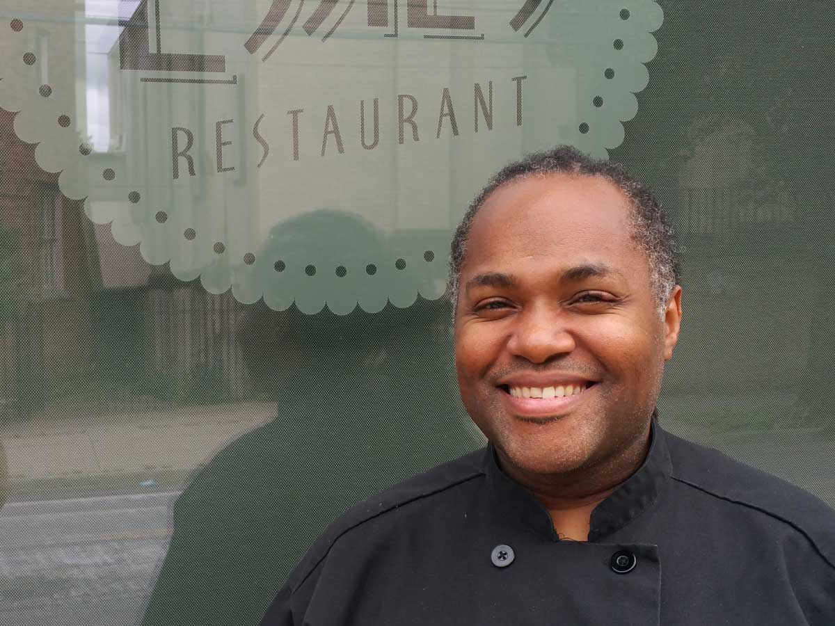 Chef Brandon Walker of Essie's Restaurant