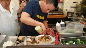 Chef Chris Cheung of East Wind Snack Shop. Photo by Battman.