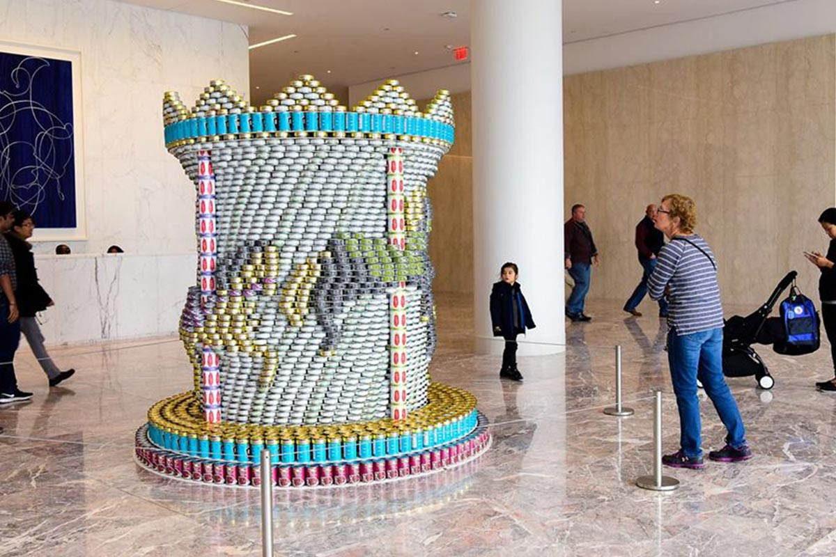 Canstruction New York