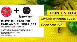 Olive Oil Tasting Fair & Fundraiser