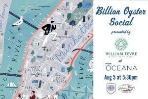 Billion Oyster Social at Oceana