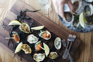 Italian Oyster Party