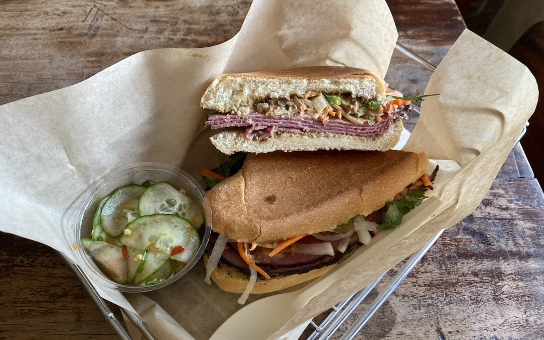A little bit Saul's Deli, a little bit 'Top Chef,' Tu David Phu's new twist on the Vietnamese sandwich