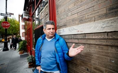 Owner of restaurant at famous 'Friends' location is tired of 'annoying' tourists